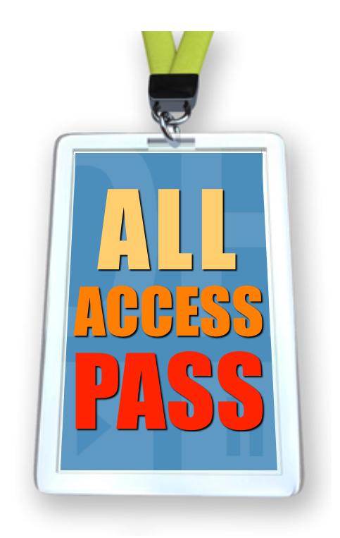 All Access Pass (www.studioDH.com)