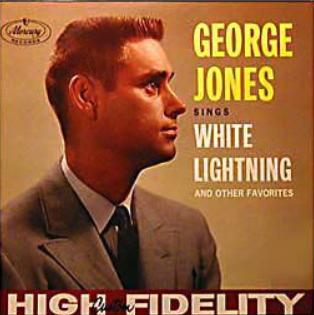 George Jones – White Lightning