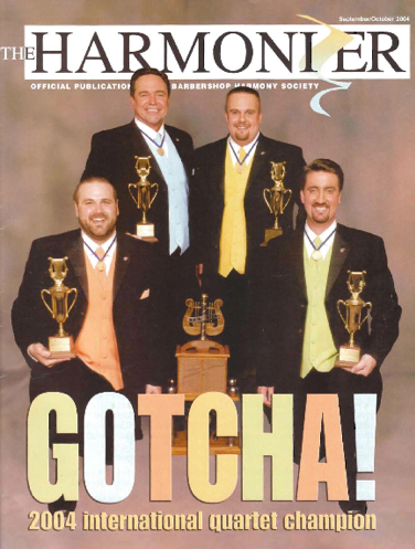 Gotcha! – 2004 BHS International Champion Quartet