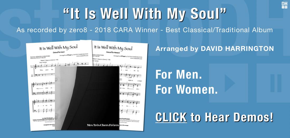 studioDH – a cappella arrangements and tracks by David Harrington