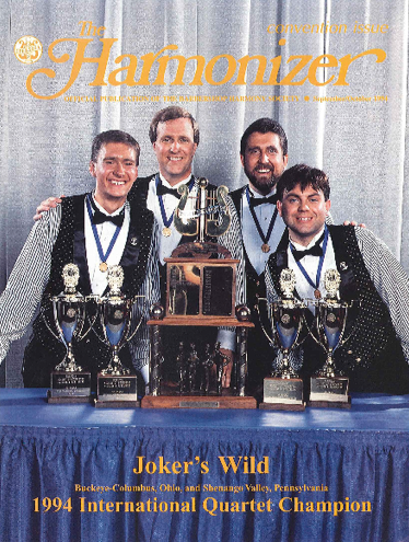 Joker's Wild – 1994 BHS Int'l Champion Quartet