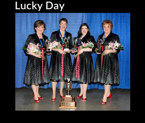 Lucky Day – 2012 SAI International 19th Place Semi Finalists