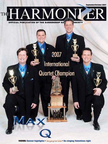 Max Q 2007 – BHS International Champion Quartet