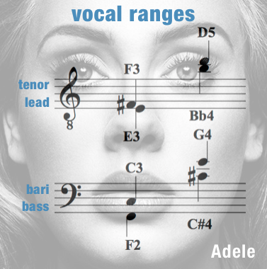 Vocal Ranges Men – Make You Feel My Love